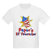 Papou's Little Firecracker T-Shirt