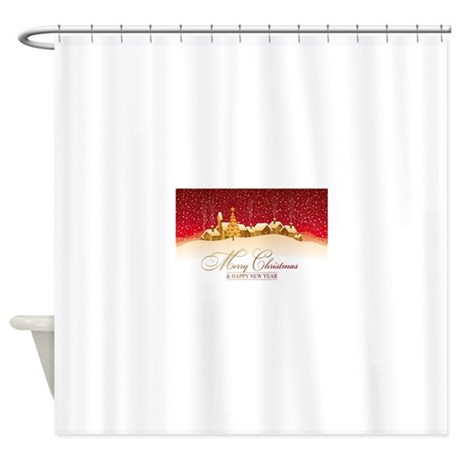 Christmas Shower Curtain By Admin CP120068912