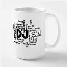 DJ Word Cloud Mugs