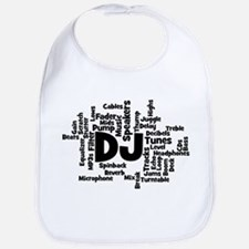 DJ Word Cloud Bib