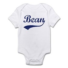 Bean - vintage (blue) Infant Bodysuit