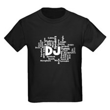 DJ Word Cloud T-Shirt