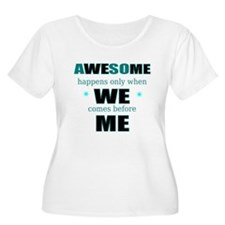 Team motivational Plus Size T-Shirt
