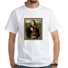 Mona Lisa (new) & Red Doberman Shirt