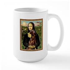 Mona Lisa (new) & Red Doberman Mug