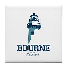 Bourne - Cape Cod. Tile Coaster