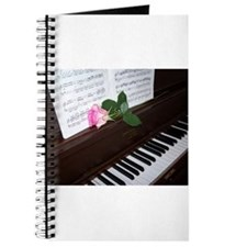 Piano' Music and a Rose Journal