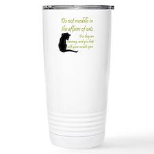 Cute Cat art Travel Mug