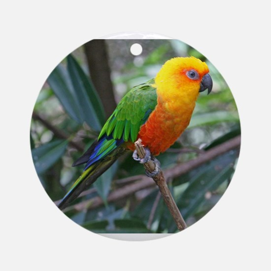 Parakeet Ornament (Round)