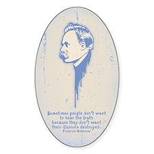 Nietzsche Illusions Decal