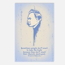 Nietzsche Illusions Postcards (Package of 8)