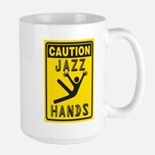 Jazz Hands! Mugs