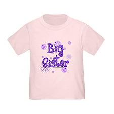 big sister p-flowers T-Shirt