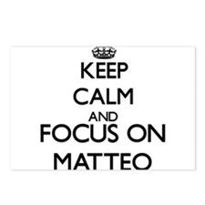 Keep Calm and Focus on Ma Postcards (Package of 8)