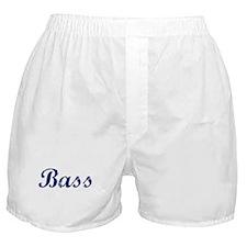 Bass - vintage (blue) Boxer Shorts