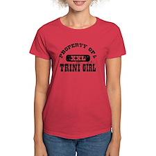 Property of a Trini Girl Tee