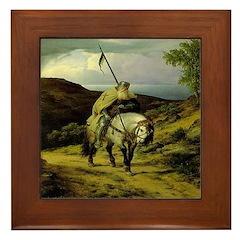 The Crusader Returns Framed Tile