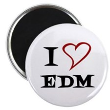 I Love EDM Magnets