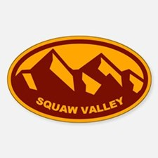 Squaw Valley Mountain Decal