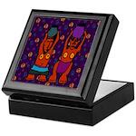 African Folkart 2 Keepsake Box