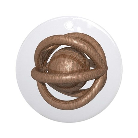 Carving Puzzle Ornament (Round)