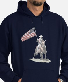 Mounted Patriot Hoodie (dark)