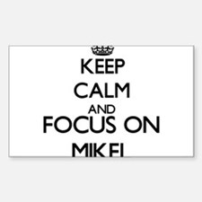 Keep Calm and Focus on Mikel Decal