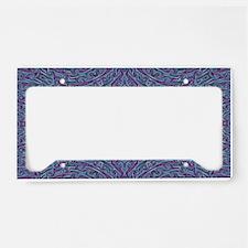 Dreamy Art Mandala License Plate Holder