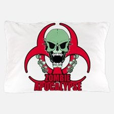 Zombie Apocalypse grn Pillow Case