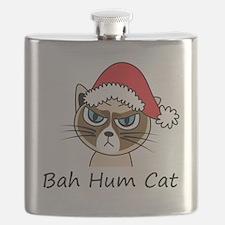Bah Hum Cat Flask