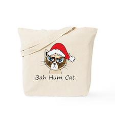 Bah Hum Cat Tote Bag