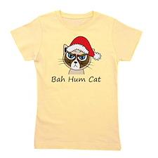 Bah Hum Cat Girl's Tee
