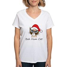 Bah Hum Cat Shirt