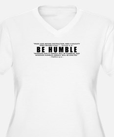 Be Humble 2.0 - Women's Plus Size V-Neck TS