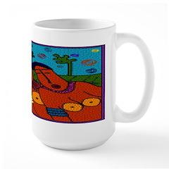 African Folkart Mug