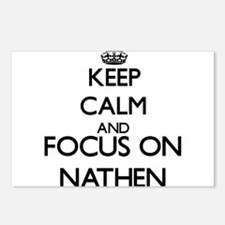 Keep Calm and Focus on Na Postcards (Package of 8)