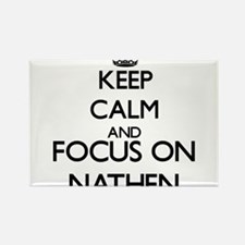 Keep Calm and Focus on Nathen Magnets