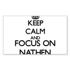 Keep Calm and Focus on Nathen Decal