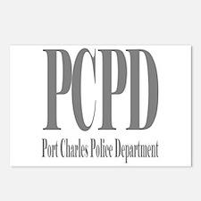Port Charles Police Depar Postcards (Package of 8)