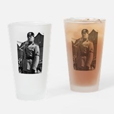benito mussolini Drinking Glass