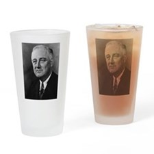franklin rosevelt Drinking Glass