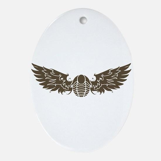 Flyin Trilo Ornament (oval)