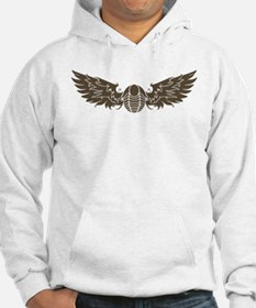 Brown Flying Trilo Hoodie Hoodie