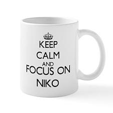 Keep Calm and Focus on Niko Mugs