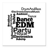 Edm Square Car Magnets