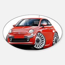 Cute Fiat Sticker (Oval)