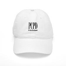 Port Charles Police Department Black Letters Baseb