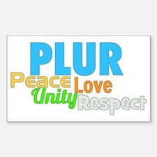 PLUR Decal