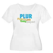 PLUR Plus Size T-Shirt