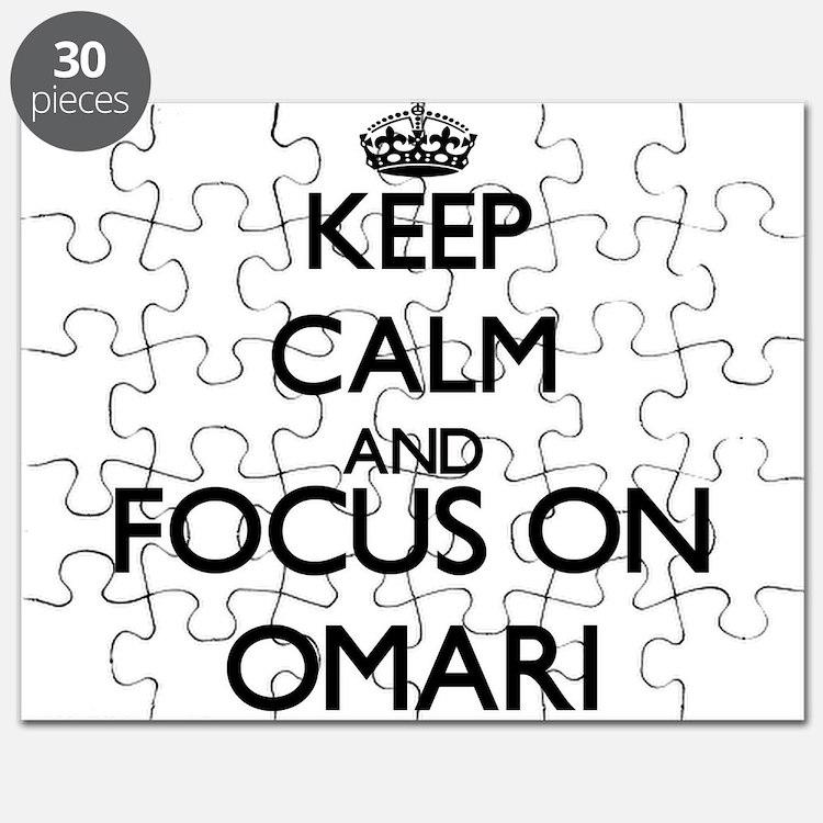 Keep Calm and Focus on Omari Puzzle